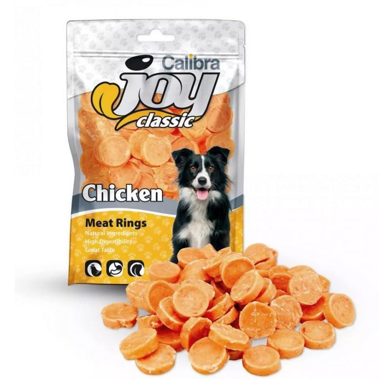 Calibra Joy Dog Classic Chicken Rings New 80 g