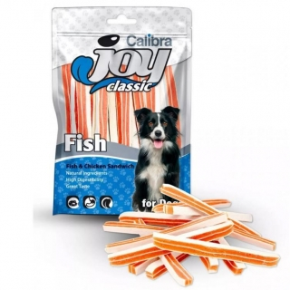 Calibra Joy Dog Classic Fish&Chicken Sandwich New 80 g