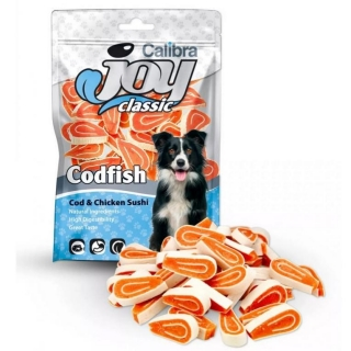 Calibra Joy Dog Classic Cod & Chicken Sushi New 80 g
